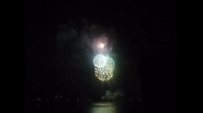 Fourth of July Fireworks West Palm Beach, FL 2010 Picture